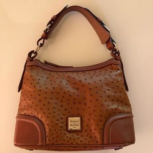 Dooney & Bourke Ostrich Hobo Bag
